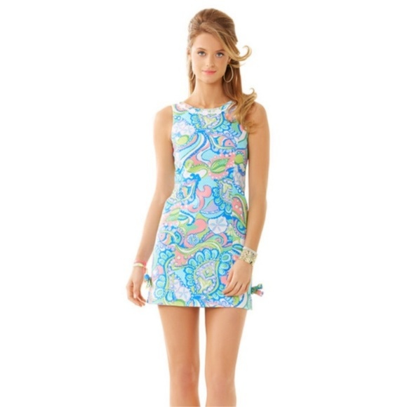 Lilly Pulitzer Dresses & Skirts - Lilly Pulitzer Delia Shift Dress Size 00